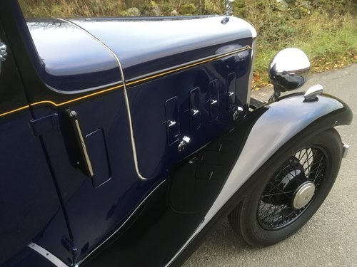 1934 Austin Ascot Lt 12/4 Saloon SOLD (picture 6 of 6)