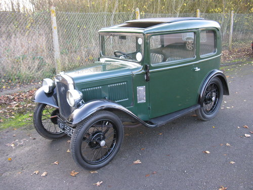 1934 Austin 7 RP saloon SOLD (picture 1 of 6)