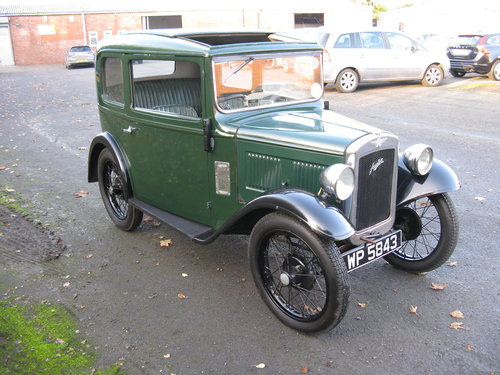 1934 Austin 7 RP saloon SOLD (picture 2 of 6)