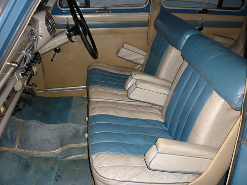 1955 Austin A90 Six Westminster - 2 owners only 67,900 miles SOLD (picture 4 of 6)