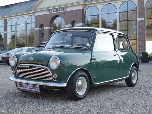 1967 Austin Mini Seven 850 LHD in a MINT restored condition! For Sale (picture 1 of 6)
