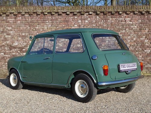 1967 Austin Mini Seven 850 LHD in a MINT restored condition! For Sale (picture 2 of 6)