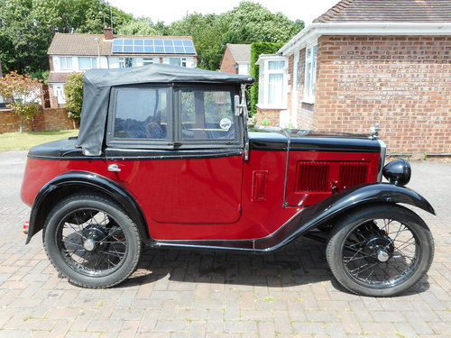 1932 Austin Seven Boat Tail For Sale (picture 1 of 6)