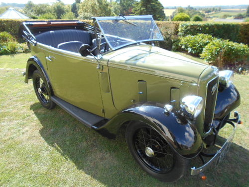 1933 Austin 7 Open Road Tourer For Sale (picture 1 of 6)