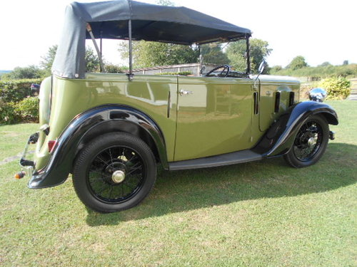 1933 Austin 7 Open Road Tourer For Sale (picture 3 of 6)