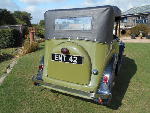 1933 Austin 7 Open Road Tourer For Sale (picture 4 of 6)