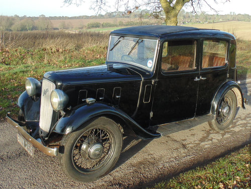 1935 Austin Ten Lichfield SOLD (picture 1 of 6)
