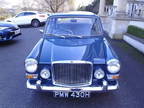 1969 Vanden Plas Princess 1300 Mk11 Only 18500 miles For Sale (picture 2 of 6)