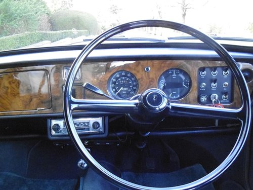 1969 Vanden Plas Princess 1300 Mk11 Only 18500 miles For Sale (picture 5 of 6)