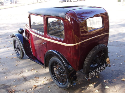 1931 Austin 7 RM saloon For Sale (picture 2 of 6)