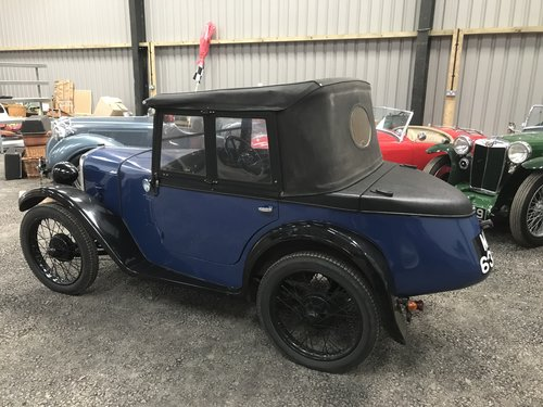 1930 Austin 7 Boat Tail Two Seater Tourer For Sale (picture 5 of 12)