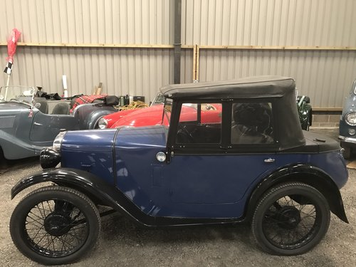 1930 Austin 7 Boat Tail Two Seater Tourer For Sale (picture 6 of 12)