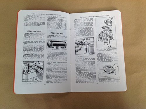Austin 8 and 10 Handbook For Sale (picture 2 of 2)