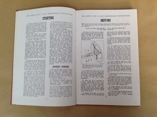 Austin Sheerline A125 & Princess Handbook For Sale (picture 2 of 2)