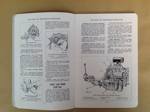 Austin A35 Handbook For Sale (picture 2 of 2)