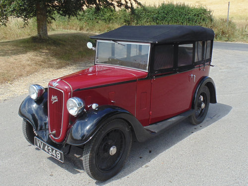 1935 Austin Seven AAK Tourer SOLD (picture 1 of 6)