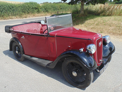 1935 Austin Seven AAK Tourer SOLD (picture 2 of 6)