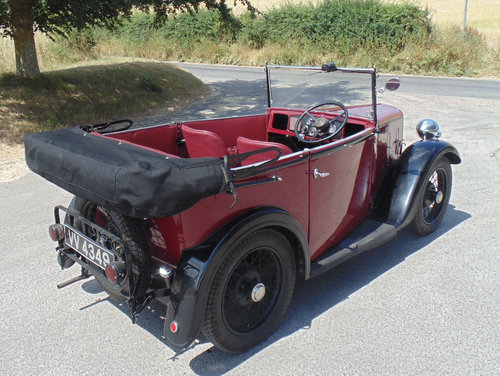 1935 Austin Seven AAK Tourer SOLD (picture 3 of 6)