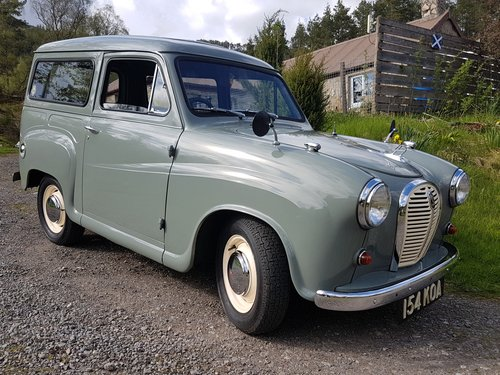 1 owner from new 1963 Austin A35 van For Sale (picture 1 of 6)