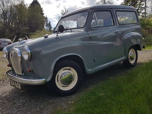 1 owner from new 1963 Austin A35 van For Sale (picture 2 of 6)