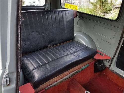 1 owner from new 1963 Austin A35 van For Sale (picture 4 of 6)