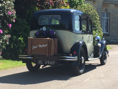 1934 Love Vintage - The little wedding car Co For Hire (picture 3 of 6)