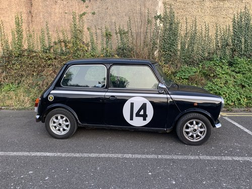 1988 Austin Mini Jet Black For Sale (picture 2 of 5)