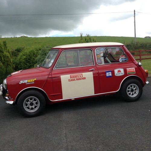 1965 Austin Cooper S Rally Car. For Sale