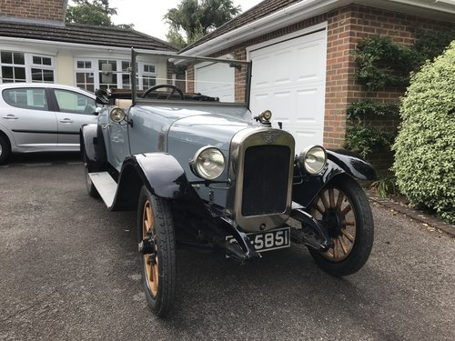 1923 Austin 12/4 two seat Tourer with dickey  SOLD (picture 1 of 5)