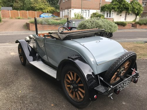 1923 Austin 12/4 two seat Tourer with dickey  For Sale (picture 2 of 5)