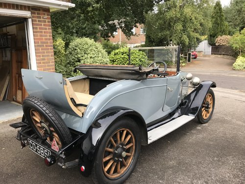 1923 Austin 12/4 two seat Tourer with dickey  SOLD (picture 3 of 5)