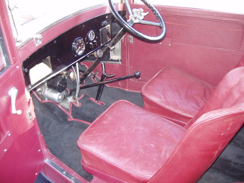 1929 Austin 7 RF fabric saloon For Sale (picture 3 of 6)