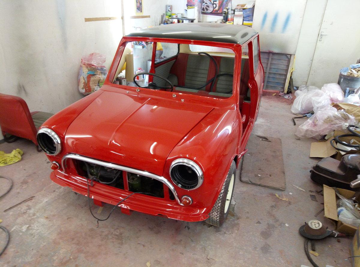 1966 AUSTIN MINI COOPER MK1   FULLY RESTORED  For Sale (picture 2 of 6)