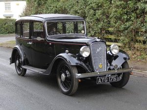 Austin Ascot 1 family owned 1936-2007,Former Concours Winner SOLD