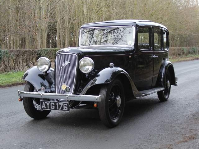 Austin Ascot 1 family owned 1936-2007,Former Concours Winner SOLD (picture 2 of 6)