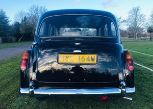 1980 Austin Taxi FX4 SOLD by Auction