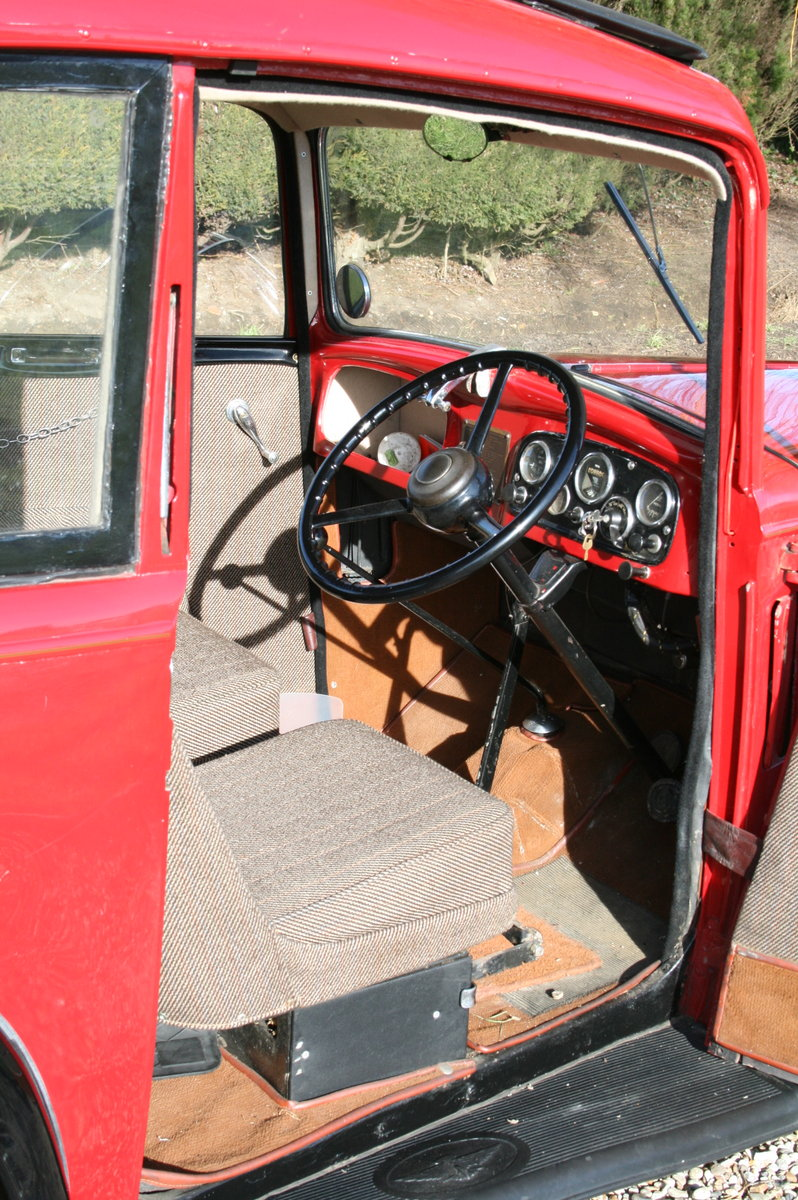 1933 Austin 7 Ruby Saloon. Excellent Condition Throughout For Sale (picture 2 of 6)