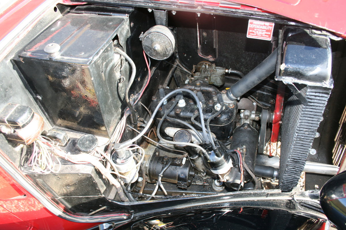 1933 Austin 7 Ruby Saloon. Excellent Condition Throughout For Sale (picture 3 of 6)