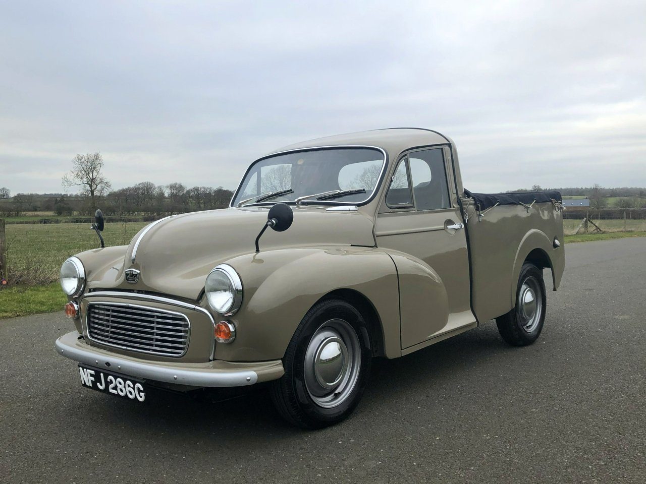 1969 Austin 8cwt Pick Up 1098cc SOLD (picture 1 of 6)