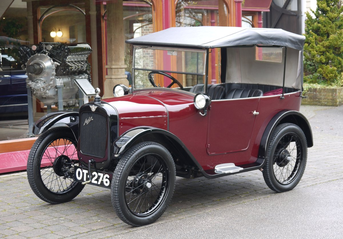Austin 7 Chummy 1926 For Sale (picture 1 of 1)