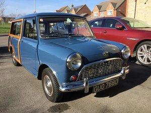1966 Beautiful and rare Mini mk1 Countryman For Sale