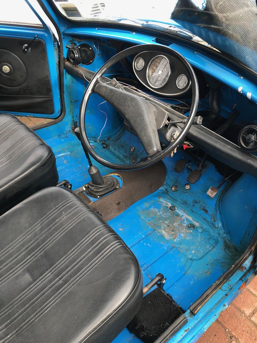 Austin Mini 850cc 1979 Low Mileage Resto For Sale (picture 5 of 6)