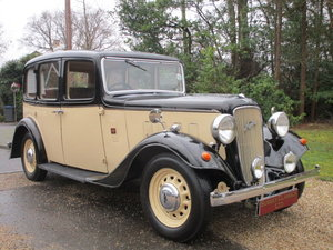 1935 Austin 12 Ascot Saloon (Card Payments Accepted) SOLD