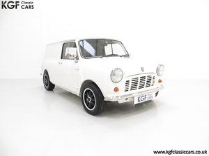 1979 An Ultra-Clean Subtly Modified Austin Morris Mini Van  SOLD