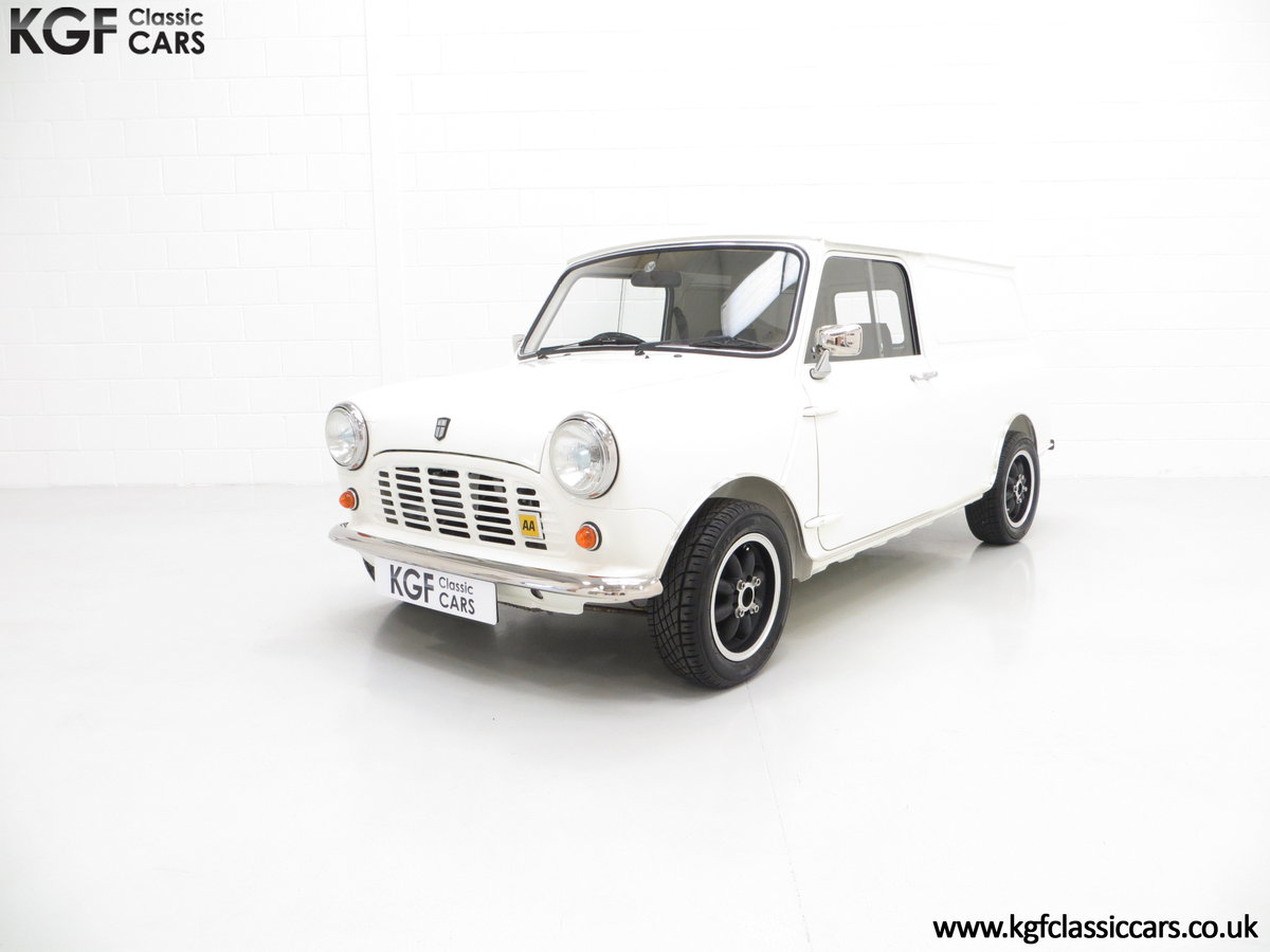 1979 An Ultra-Clean Subtly Modified Austin Morris Mini Van  SOLD (picture 2 of 6)