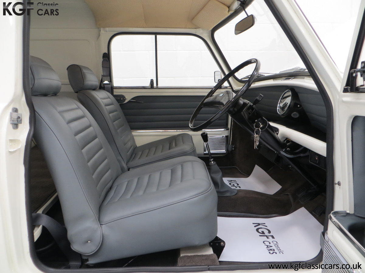 1979 An Ultra-Clean Subtly Modified Austin Morris Mini Van  For Sale (picture 6 of 6)