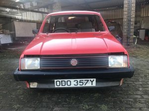 1983 classic mk1 mg metro 1275cc For Sale