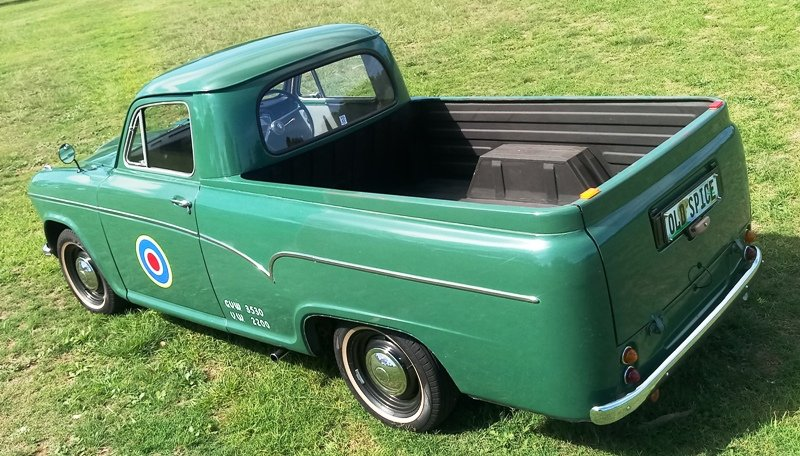 1969 Austin A60 Half-Ton Pick-Up  (rare original) For Sale (picture 2 of 6)