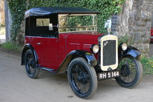 1932 Austin 7 Four Seat Tourer For Sale by Auction