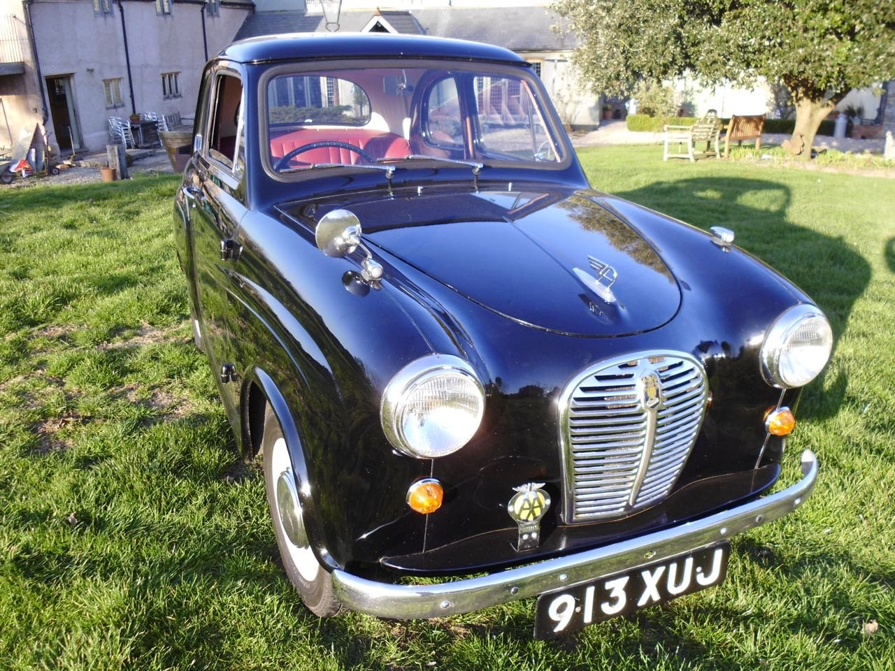 1956 Austin A30 2Door saloon 44000 miles only SOLD (picture 1 of 6)